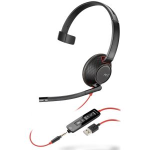 Професионална микрогарнитура  Plantronics Blackwire C5210 USB-А
