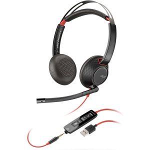 Професионална микрогарнитура  Plantronics Blackwire C5220 USB-А