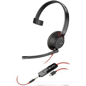 Професионална микрогарнитура  Plantronics Blackwire C5210 USB-C